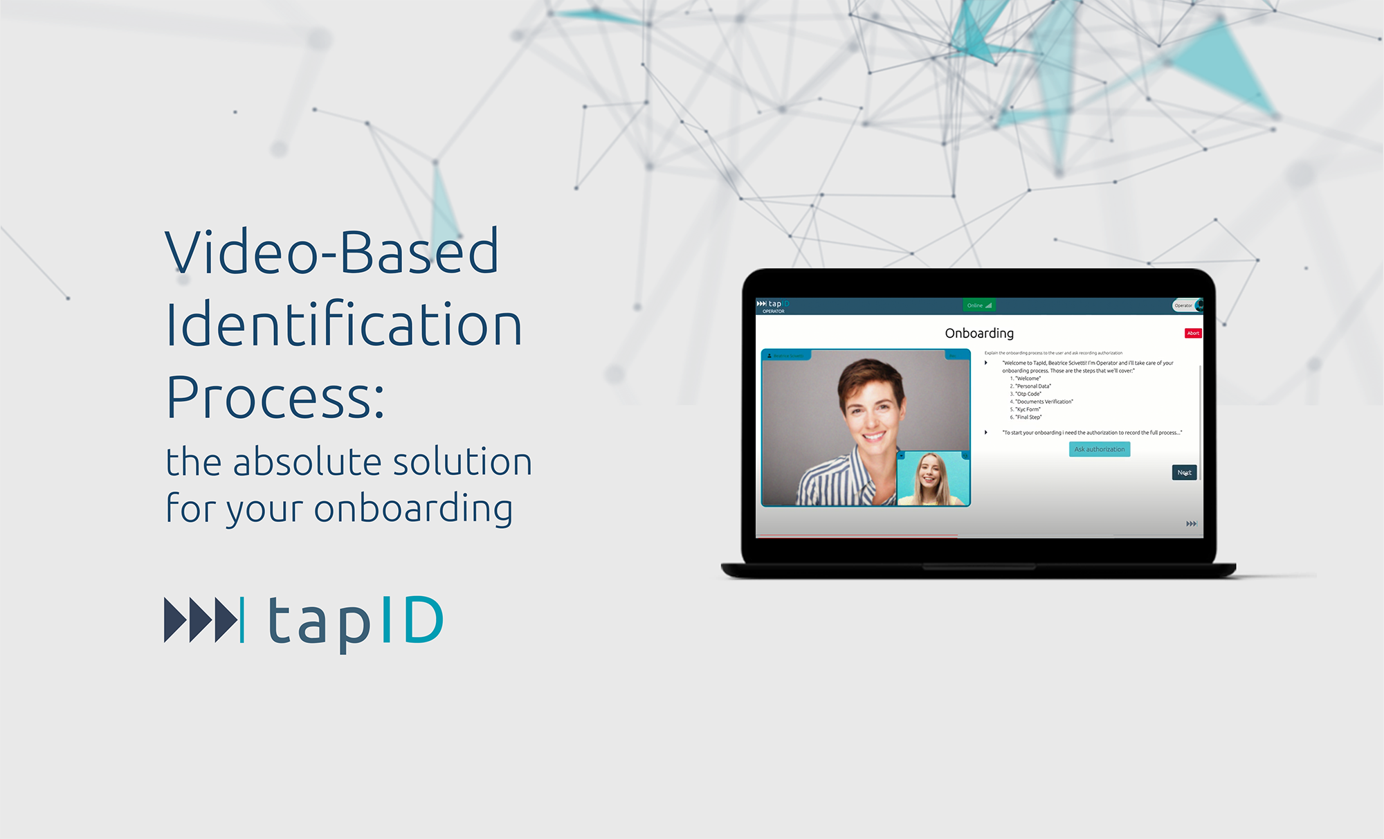 Video-Based Customer Identification Process: the absolute solution  for your onboarding